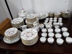 Herendi 12 személyes étkészlet, teás és kávés készlet egyben