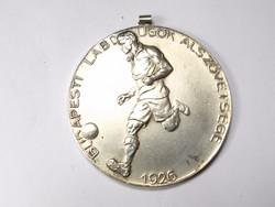 Budapesti Labdarúgók Alszövetsége ezüst érem 1932.