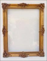 Antik blondelkeret , képkeret , 37 x 47 cm.