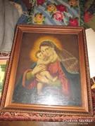 XIX. századi Szűz Mária festmény