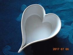 Mázas kerámia-szív alakú-13 x 10 x 5 cm