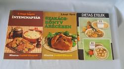 Szakácskönyv csomag 1975-1978