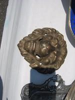 Antik oroszlán kopogtató