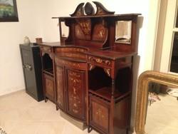 Antik angol szekrény