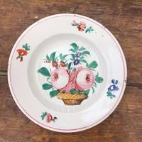 Gyönyörű korai Apátfalvi festett tányér