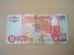 ZAMBIA 50 KWACHA 2003