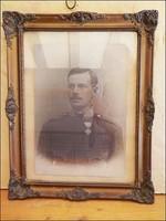 II. vh. katona fotó keretezve , nagy méret