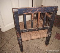 1866-os Sz M -monogrammos gondolkodó szék.