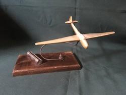 Régi repülőgép fényképtartó dísztárgy