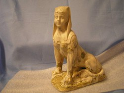 Mitológiai szobor terrakotta ritkaság 22cm