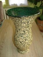 Rücskös mázas Gorka kerámia váza