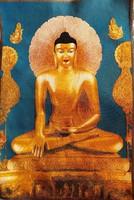 Buddha fali szőttes, fali dísz, kép, jelkép