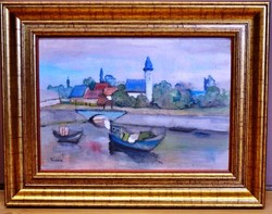 Vadász Endre (1901-1944) festmény - AKCIÓ !!!