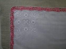 1349. Díszzsebkendő - hímzett
