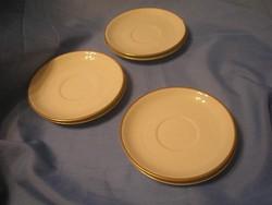 N3 Antik aranyszegélyes süteményes 5+ 1db 15.5 cm