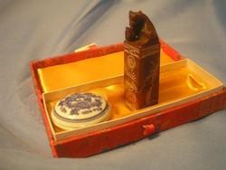 N1 Chinai fó kutyás pecsétnyomó dobozban viasz festékkel