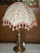 Asztali lámpa, réz