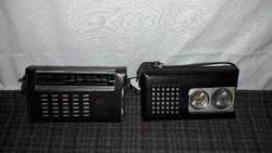 Sokol 403 és Signal 402 kis táskarádiók egyben,működnek!