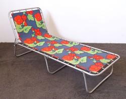 0M270 Retro virágmintás alumínium kemping ágy
