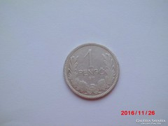 Ezüst 1 pengő 1926. Szép tartásban!