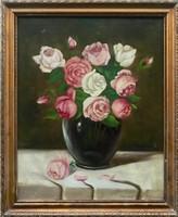 Henczné Deák Adrienne - Virág csendélet