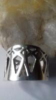 Ezüst gyűrű, egészen különleges!!!!!