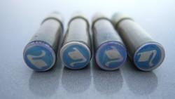 Régi Stabilo irónbetét, ceruza bél, 4 db kapszulában