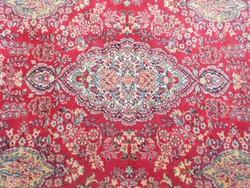 Perzsa gyapjú szőnyeg.Kézi csomózású.355x245cm.