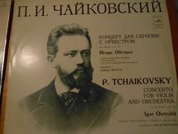 Csajkovszkij: Hegedűverseny, zongoraverseny, részletek a Diótörőből