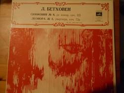 Beethoven: IX. szimfonia, III. Leonóra nyitány és más