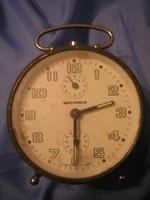 U4 Wehrle antik ébresztős csörgő óra ritkaság