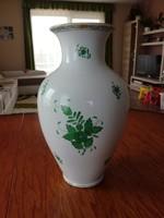 Herendi Apponyi mintás porcelán váza eladó! 33 cm-es!