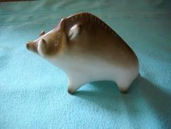 Antik Zsolnay vaddisznó porcelán nipp eladó!