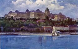 BUDAPEST, Királyi várpalota, 1916.