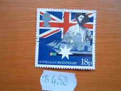 ANGOL ANGLIA 18 P 1988 Ausztrália 200. évfordulója B452