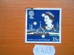 ANGOL ANGLIA 18 P 1988 Ausztrália 200. évfordulója B453