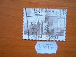 "ANGOL ANGLIA 5 FONT 1988 Brit várak és kastélyok ""Windsor Castle"" B477"