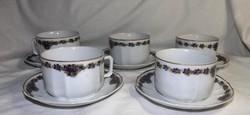 Ibolya mintás teás csésze + alj  egy darab    MCP porcelán gyönyörű