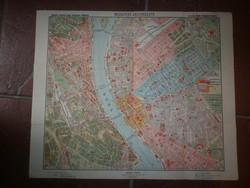 Régi budapest térkép m kir áll térképészet horthy kor