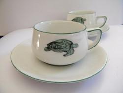 RetroThomas Rosenthal Lacroix kávés csészék aljjal 2 db