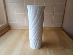 Régebbi AK Kaiser Bavaria biszkvit fehér porcelán váza