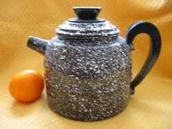Zománcos teás kanna, vízforraló