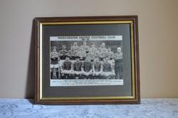 1967-68 as Manchester United Futball Klub Fotónyomat keretben