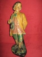 Nagyon régi, férfialakot ábrázoló antik gipsz szobor!