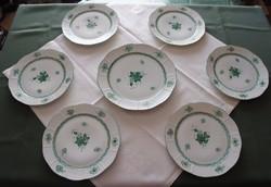 Herendi zöld Apponyi étkészlet 1943 -as.