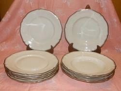 Rosenthal chippendale tányérok 6 db lapos 5 db mélytányér