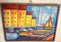 Vén Emil festmény 34,5 X 25 cm