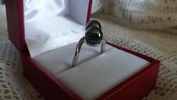 Gömbös ezüst gyűrű