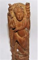 Keleti szantálfa szobor fafaragás