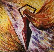 Festmény - Magabiztos nő